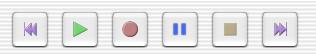 audacity buttons