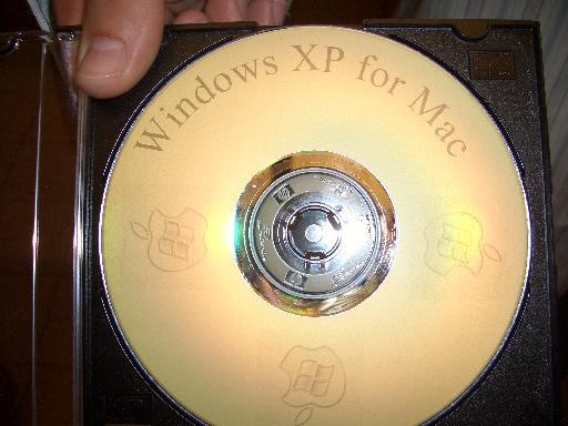 cool lookin' XP CD