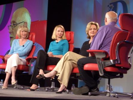 Stewart, Google & Discovery representatives