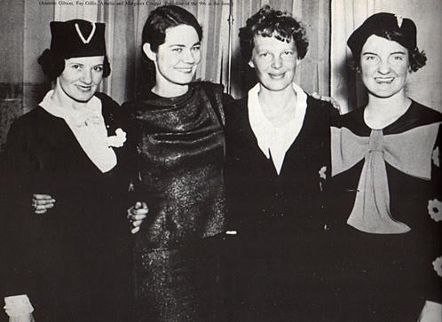 Fay Wells and Amelia Earhart