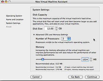system settings on fusion