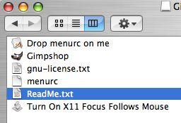 folder of gimpshop files