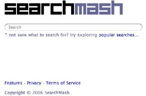 search smash opening window