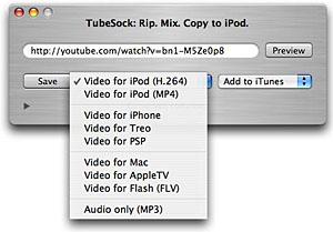 tubesock options