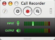call recorder window