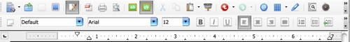 neo office aquified menu bar