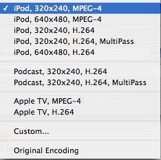 viddyup encoding options