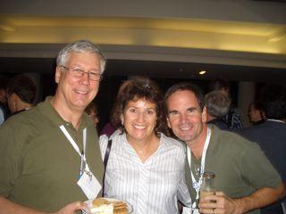 Andy McCaskey, John Chambers and Allison