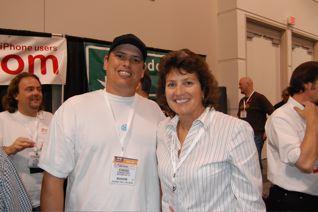 Eddie Vogt and Allison