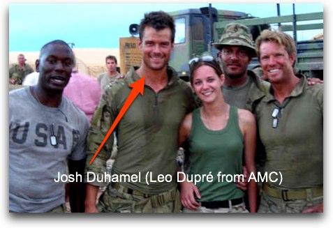 Josh Duhamel who plays Leo Dupré on All My Children