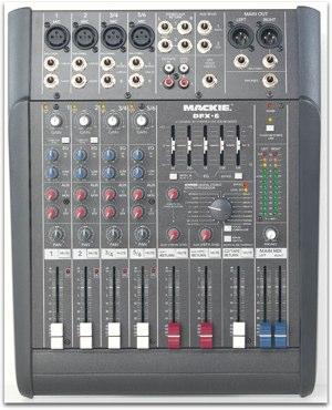 Mackie dfx-6 mixer