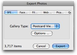 crowded export window