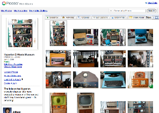 albums are more normal in picasa