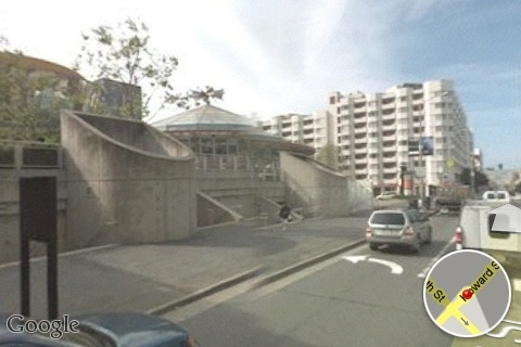 google street view of the moscone