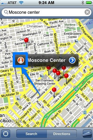 moscone search window