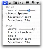 Soundflower sound preference