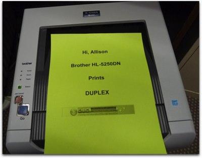 Brother HL5250 printer