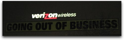 verizon wireless out of business?
