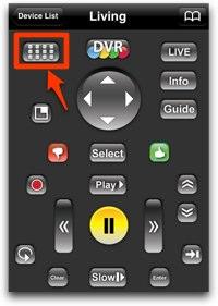 dvr remote screenshot