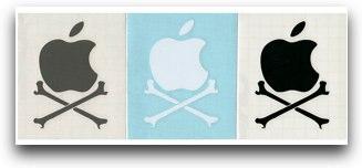 Apple cross bones