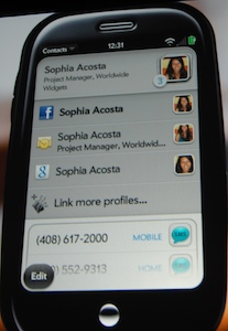 contacts with info from lots of places