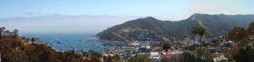 Catalina panorama from Hugin