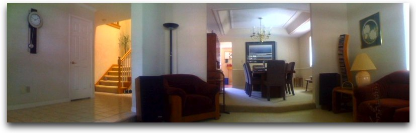 Kyle's panorama of the living room