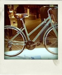 picture of a bike with fingerprints on it