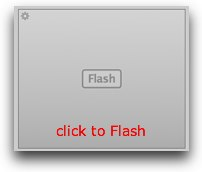 Click to Flash showing Flash in rectangular