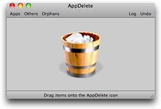 appdelete main window