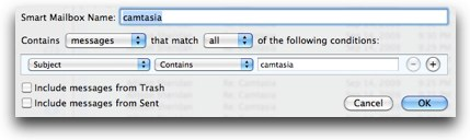 smart mailbox example for camtasia