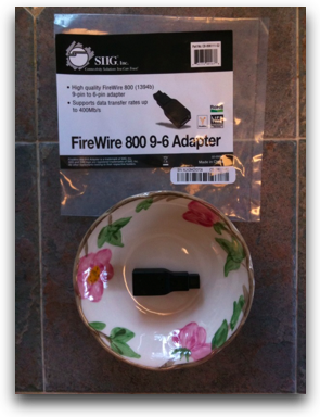 firewire adapter from siig