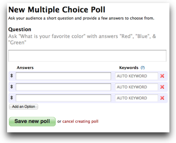 Multiple Choice fields