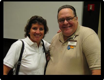 Greg Locke with Allison