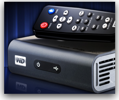 wdtv is the size of a paperback book