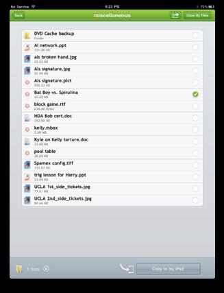 disk menu in TeamViewer showing my Mac hard drive folder