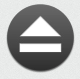 jettison logo looks like an eject button