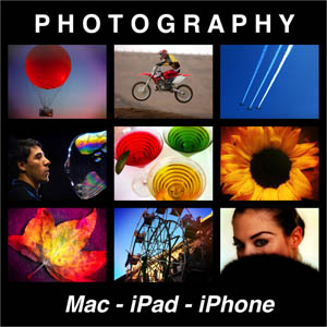 Robert's logo for Photography and the Mac
