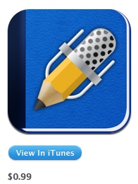 notability in iTunes store