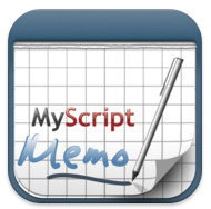 MyScript Memo icon in iTunes