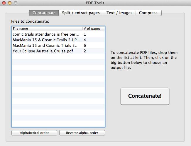concatenate window as described