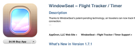windowseat in iTunes store