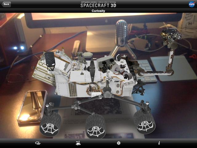 Curiosity rover sitting on my desk!