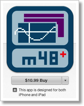 app store purchase of m48+