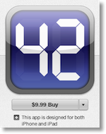 pcalc logo from itunes showing $10 price