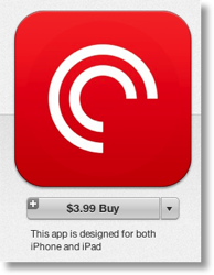 Pocketcasts in iTunes
