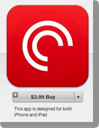 Pocketcasts in iTunes