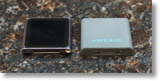 Nano and WaveJamr size comparison (about the same)