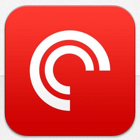 pocket casts logo in iTunes