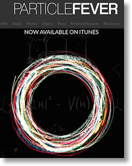 screenshot of the web site showing some whirly thingys I think are protons?